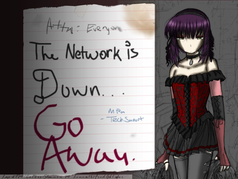 network down